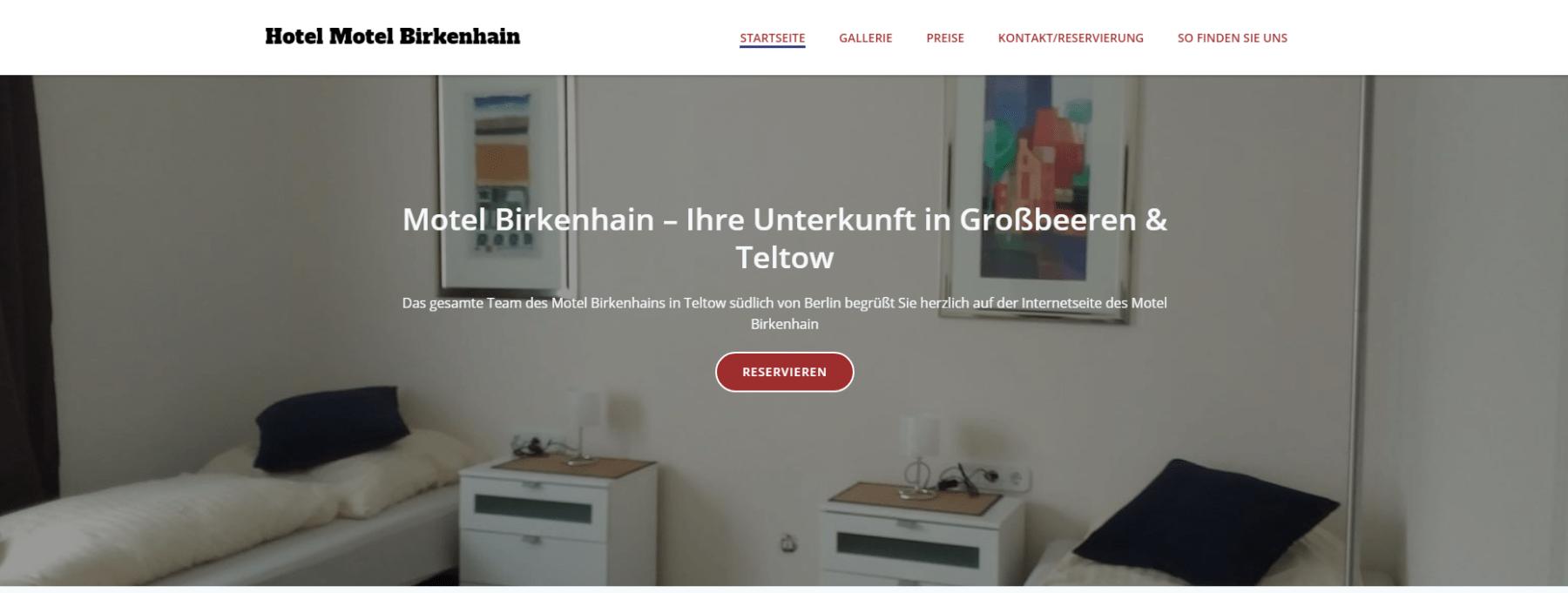 Motel Birkenhain