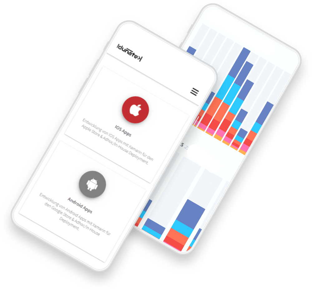 responsive, smartphone, IOS, android, idunatek, app-entwicklung, webpräsenz, selbstständige