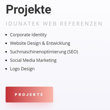 Referenzen Webdesign, Idunatek, Webseite in Mainz Webdesign, Webentwicklung, Projekte, Logodesign, SEO Wiesbaden, Suchmaschinenoptimierung in 55116 Mainz