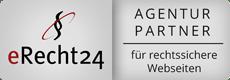 erecht24 DSGVO Konformität Siegel Agentur partner Idunatek Datenschutz