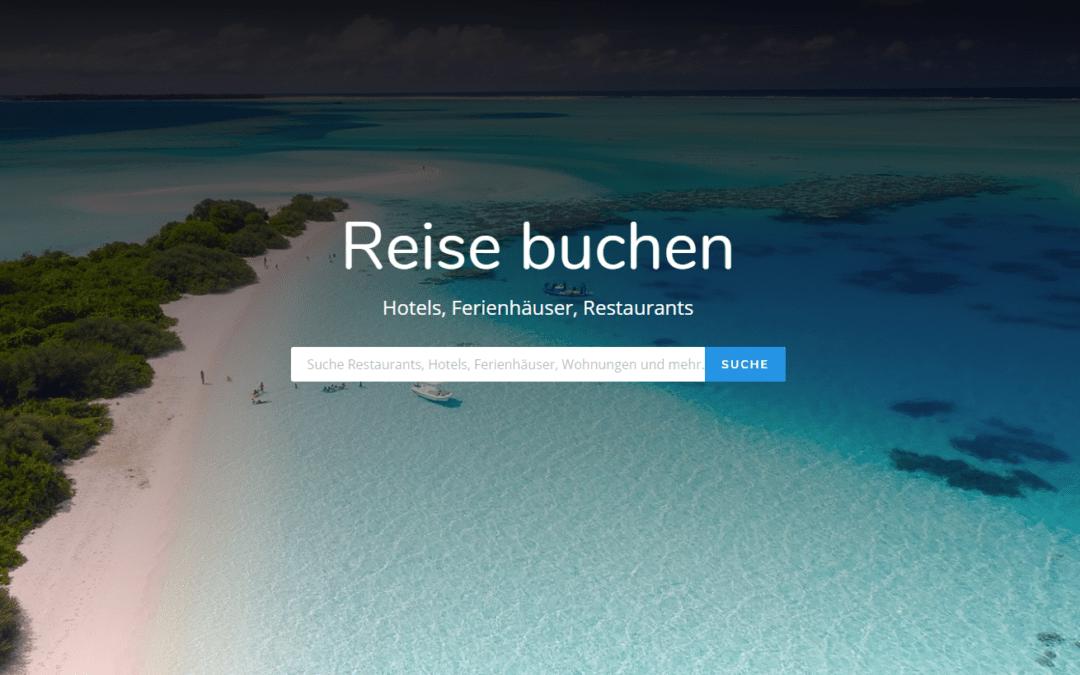 Reise buchen, Webseite, Webdesign by Idunatek aus Idstein bei Frankfurt am Main, Muster, Webentwicklung, SEO