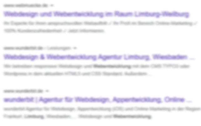 Google Einträge Suchmaschinenoptimierung